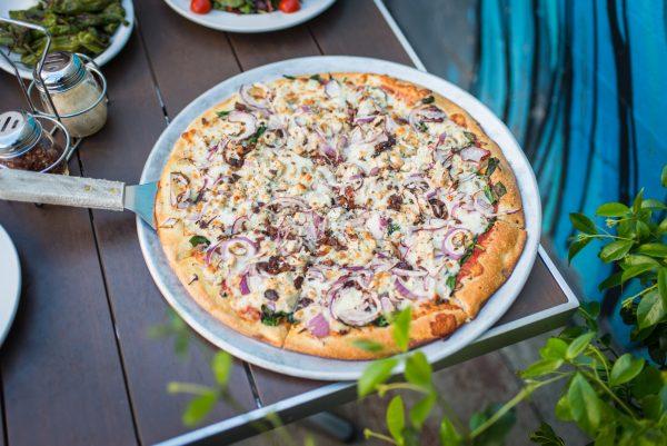 Danville CA, Blue Line Pizza