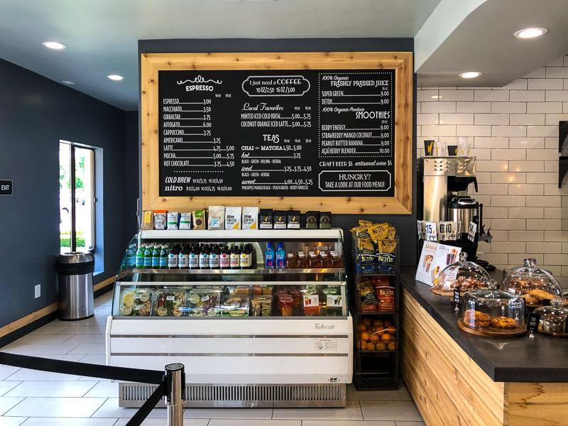 Coffee Shop in Danville CA
