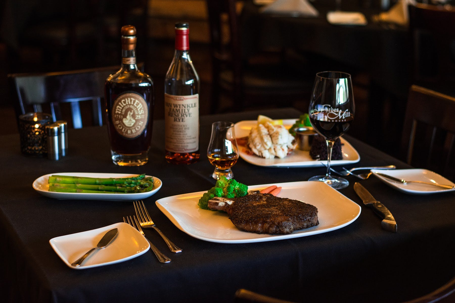 Steakhouse in Danville, CA - Forbes Mill