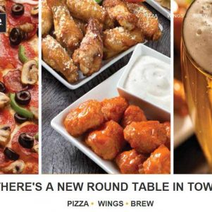 Roundtable pizza, wings, and brew - Danville CA