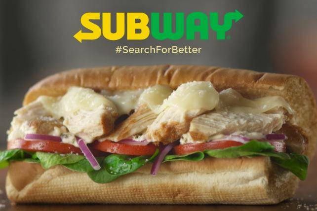 Subway sandwiches in Danville CA