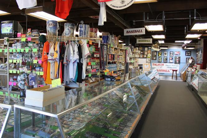 Talkin baseball shop in Danville CA