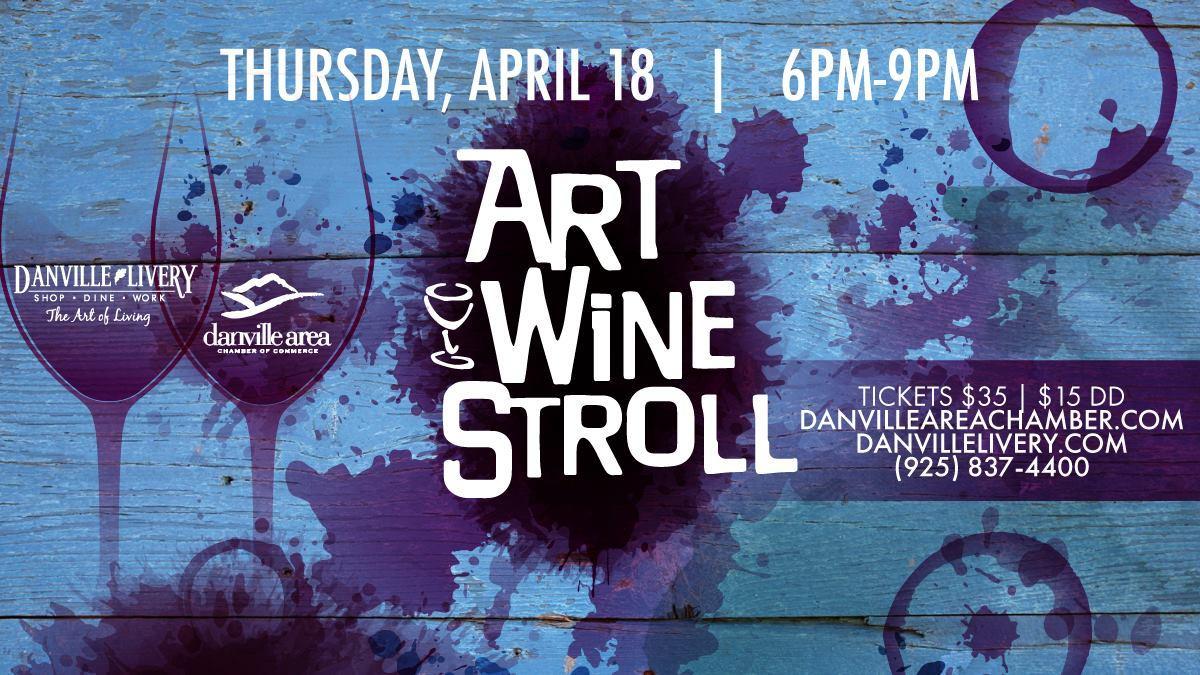 Art & Wine Stroll, Danville Ca.