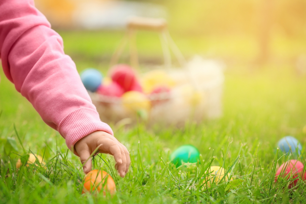 Easter Egg Hunt, Pleasanton, CA