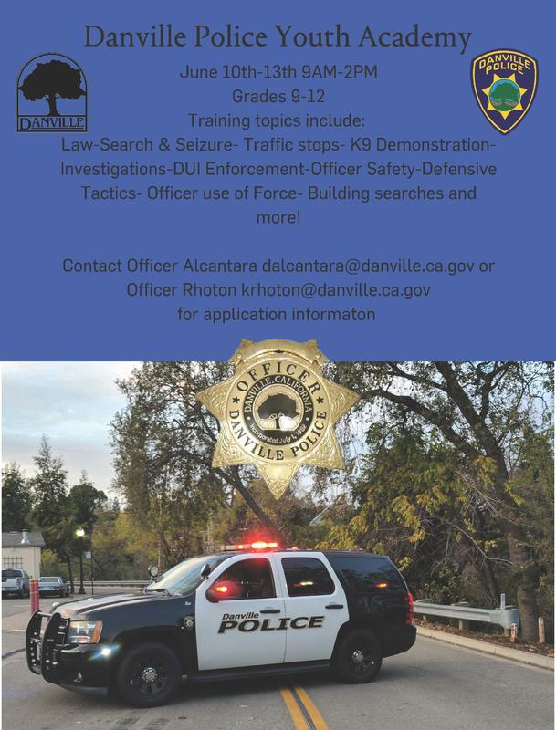 Danville Youth Police Academy