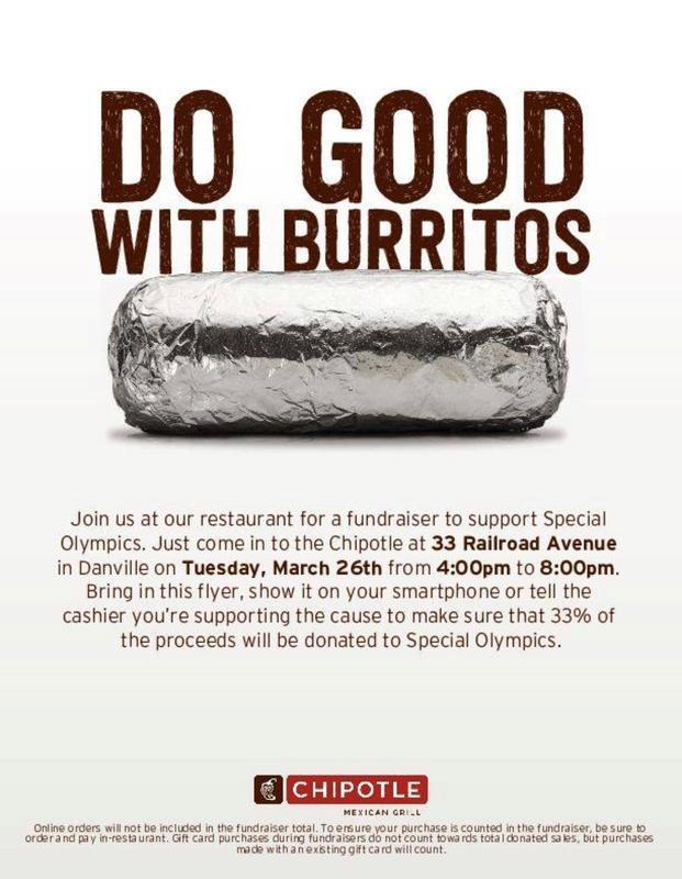 Do Good with Burritos chipotle
