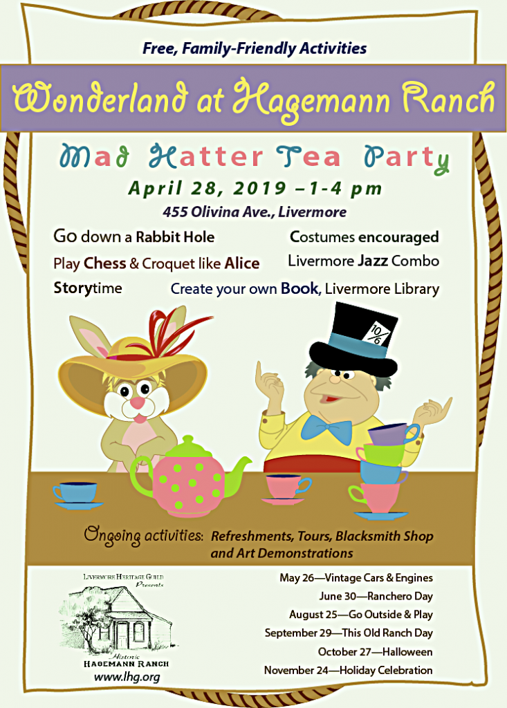 Mad Hatter Tea Party, Livermore, CA
