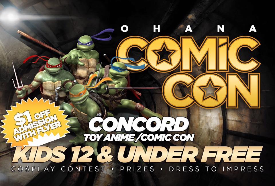 Comic Con, Concord, CA