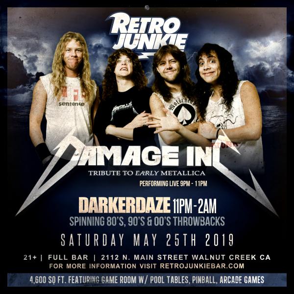 Damage Inc. (Metallica Tribute) + DJ Darker Daze