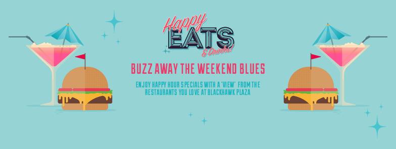 Happy Eats at Blackhawk Plaza