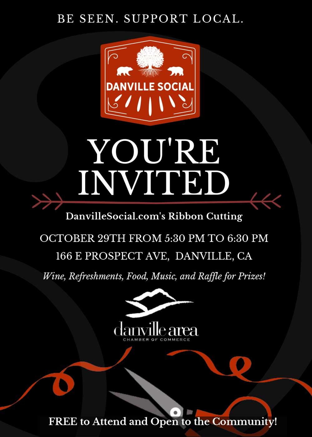 DanvilleSocial.com Chamber of Commerce Ribbon Cutting